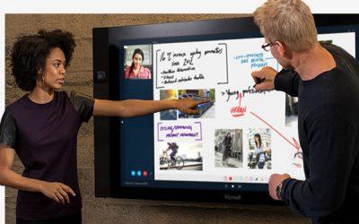 Microsoft Surface Hub | een touchscreen voor zakelijk gebruik