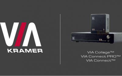 Belangrijke software update Kramer VIA