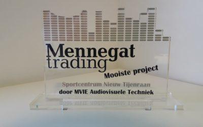 """Audio Award voor """"Mooiste Project 2018"""""""