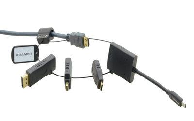 Ook vaak net niet de juiste kabelaansluiting bij de hand?