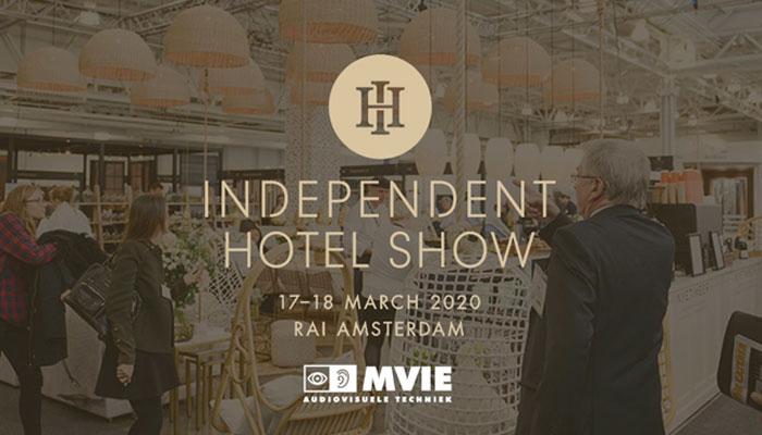 MVIE op de Independent Hotel Show