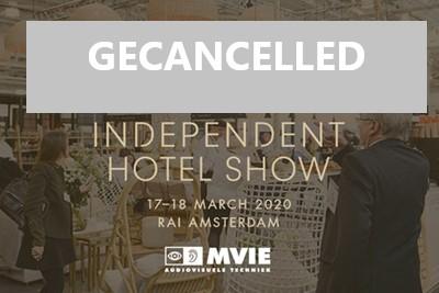 Independent Hotel Show geannuleerd