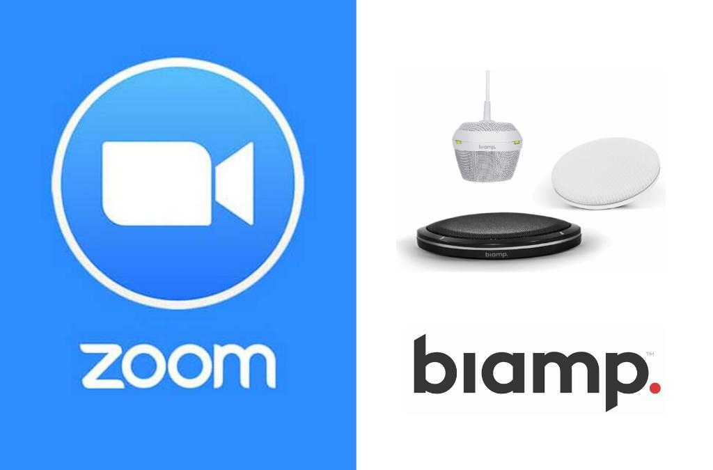 NIEUWS | Biamp upgrade voor Zoom Videoconferencing