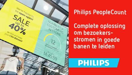 Nieuw: Philips PeopleCount | Ideaal voor winkels en publieke ruimtes