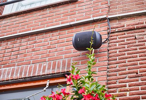MVIE Geluidssysteem Binnenstad Leerdam Apart Speaker
